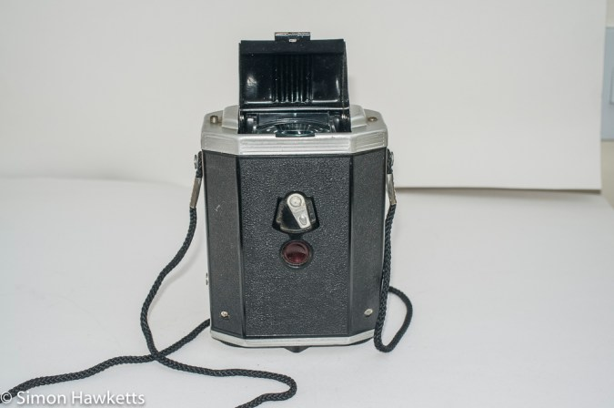 Kodak Brownie Reflex camera - rear view