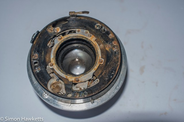 Repairing a Werra 1 Camera - Part two 2