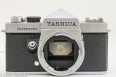 Yashica Pentamatic 35mm slr front view without lens fitted