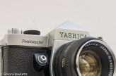 Yashica Pentamatic 35mm slr front view