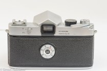 Yashica Pentamatic 35mm slr rear view