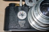 Argus C4 35mm rangefinder camera - removing the front covering