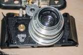 Argus C4 35mm rangefinder camera - removing the front of the camera
