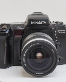 Minolta Dynax 700si 35mm autofocus - Front view of camera