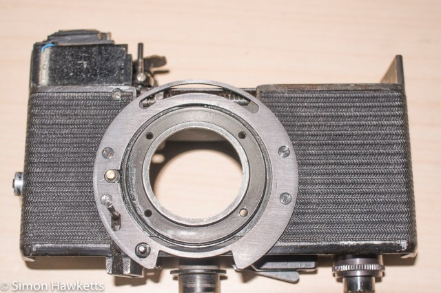 Carl Zeiss Werra Mat reassembly after strip down and refurbishment - part 3 2