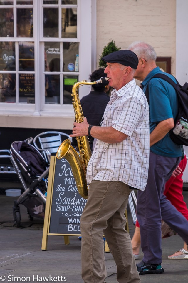 Lincoln city pictures with fuji x-t1 - Busker