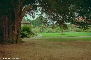 Minolta Dynax 700si sample pictures - Gardens at Gunby Hall