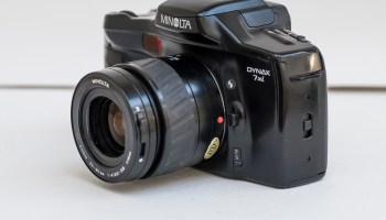 Minolta Dynax 700si autofocus camera — Simon Hawketts' Photo