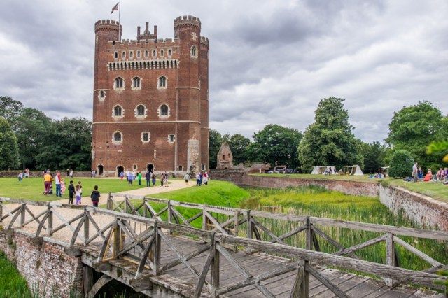 Tattershall castle in Lincolnshire - Fuji X-T1 with Tamron 10-24mm super wide angle