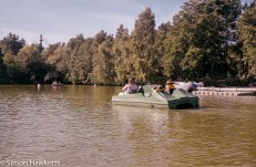 Elveden Forest Centerparcs on film - boating