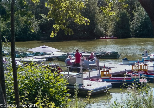 Elveden Forest Centerparcs on film - hiring boats