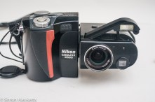 Nikon Coolpix 4500 digital camera - flash up