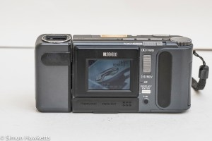 Ricoh RDC-4200 back panel showing LCD