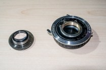 Agfa Karat focus components ready for re-greasing