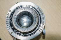 Agfa Karat shutter removed from camera