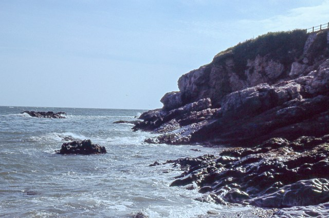 Discovered colour slides - A rocky coastline