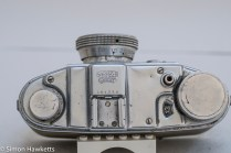 Finetta 88 camera - top of camera
