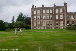 Gunby Hall holiday pictures with fuji x-t1 - playing croquet