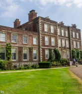 Gunby Hall holiday pictures with fuji x-t1 - The hall with lawn in front