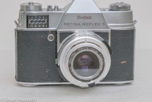 Retina Reflex S front view of camera 2