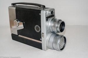 Bell & Howell 200EE cine camera - side view
