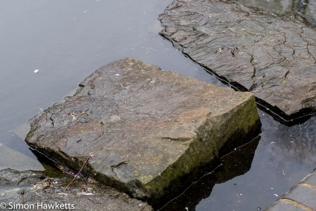 Vivitar 75 - 205mm  f/3.8 zoom  telephoto on Fuji X-T1 sample pictures - stepping stone