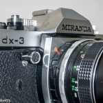 Miranda dx-3 35mm slr camera