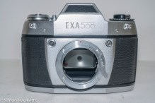 Exakta Exa 500 35mm film camera - lens removed