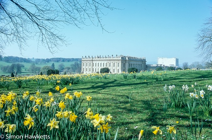 Pentax Z-1P & Agfa CT-100 slide film - Chatsworth house