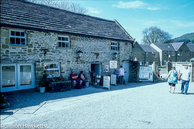 Pentax Z-1P & Agfa CT-100 slide film - Eyam Hall gift shop