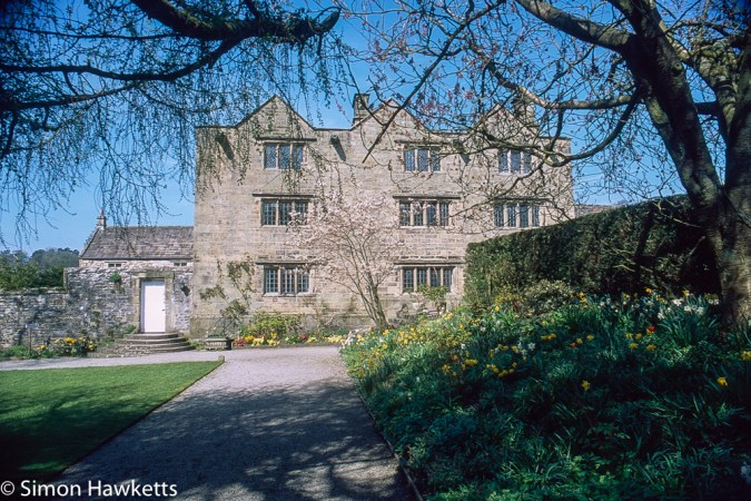 Pentax Z-1P & Agfa CT-100 slide film - Eyam Hall