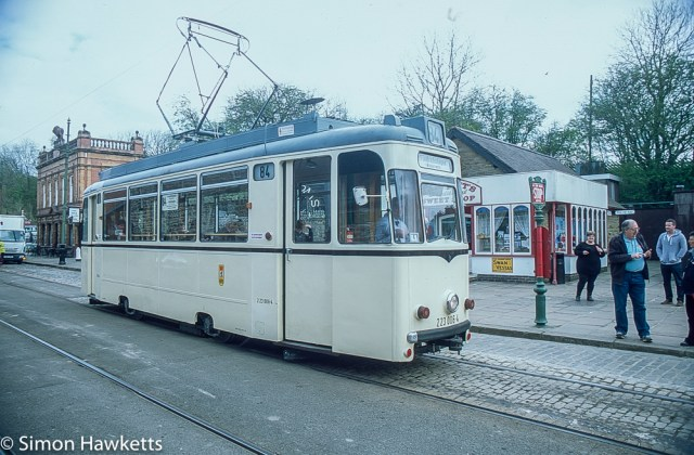 Pentax Z-1P & Agfa CT-100 slide film - Tram in museum