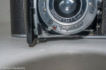 Voigtlander Vito 35mm folding camera - self timer lever