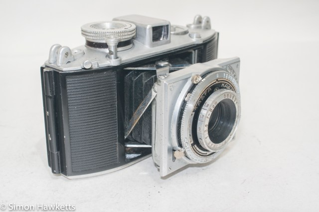 Agfa Karat viewfinder camera with strap lugs 4