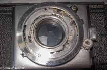 Agfa Karat IV shutter repair - removing the speed setting ring