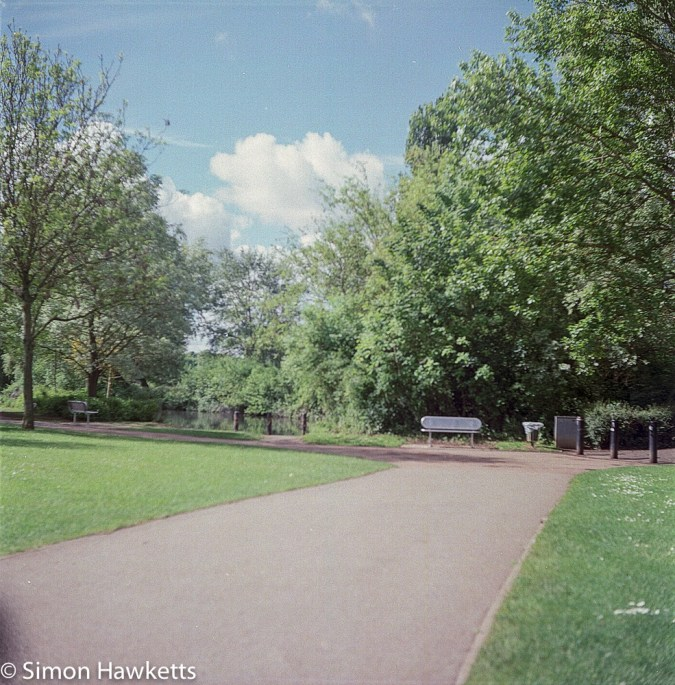 Ciro-Flex TLR sample pictures - One of the paths in Fairlands