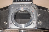 Exakta Varex IIb Strip Down - remove mount screws and lift off mount