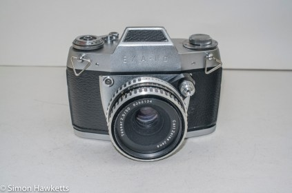 Ihagee Exakta IIa 35mm camera - front view