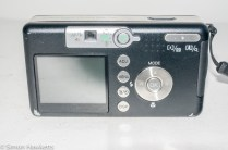 Ricoh Caplio R1v - back panel controls