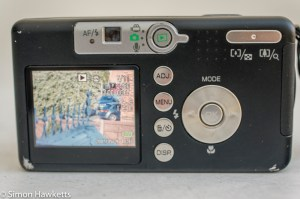 Ricoh Caplio R1v - LCD display