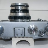 Fed 3 rangefinder camera - Top of camera