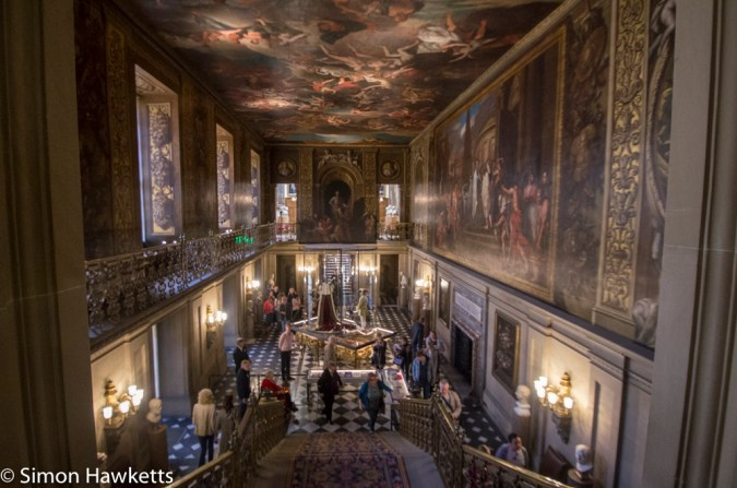 Chatsworth house pictures - staircase