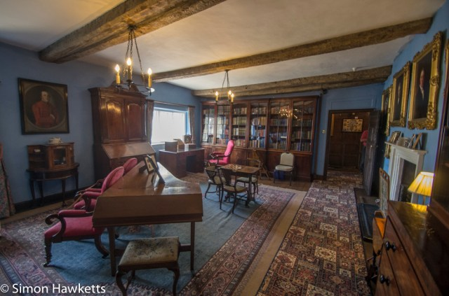 Eyam Hall Pictures - One of the interior rooms