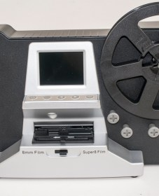 Winait 8mm film scanner - front view