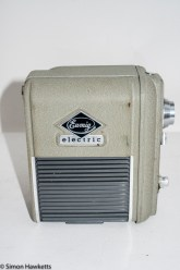 Eumig Electric 8 Cine Camera - Side view showing battery compartment