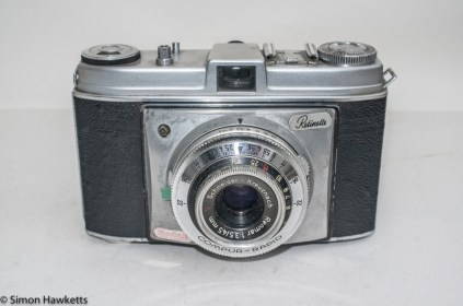 Kodak Retinette Type 22 35mm camera - Front view