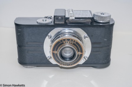 Argus A2F Viewfinder Camera - Front view