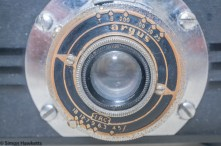 Argus A2F Viewfinder Camera - Aperture and shutter speed setting