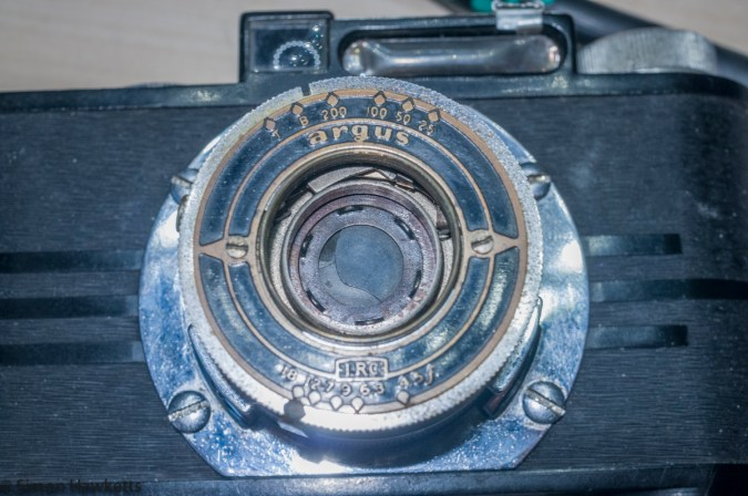 Servicing the Argus A2F - Front lens assembly unscrewed