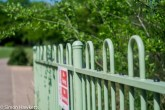 Kodak Retina Ysarex lens on Fuji X-T1 mirrorless - Green railings